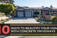Photo of 10 Ways To Beautify Your Home With Concrete Driveways